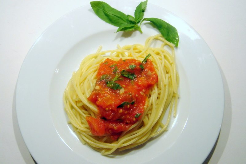 sauce tomate au basilic