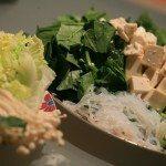 Shabu shabu, fondue japonaise aux légumes et au boeuf