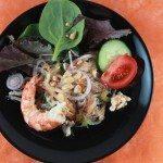 Yam wun sen, salade de vermicelles thaï