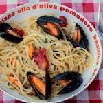Spaghettis aux moules – spaghetti con le cozze