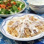 Moghrabieh au poulet