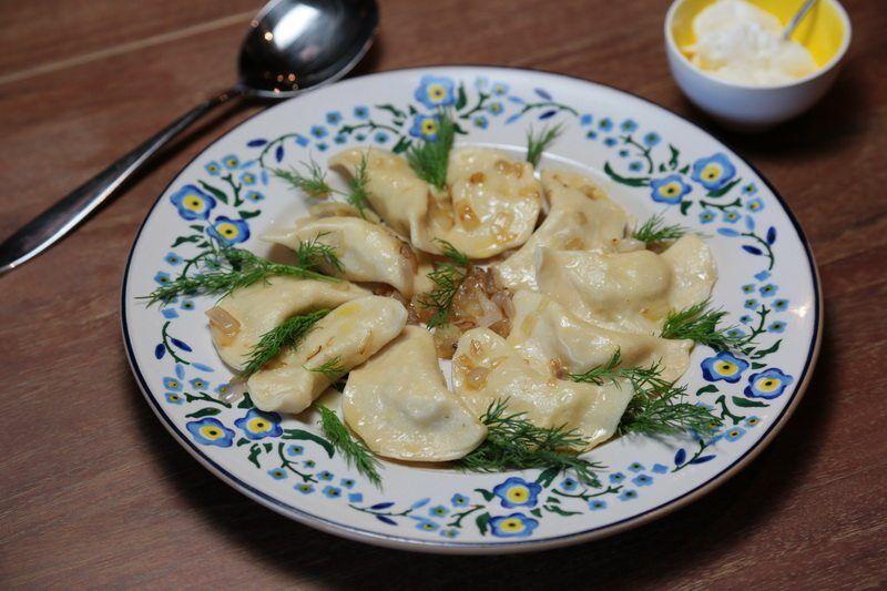 vareniki à la pomme de terre