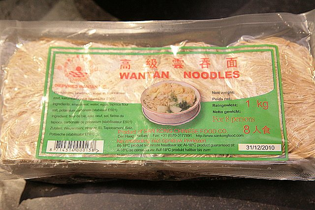 wantan noodles